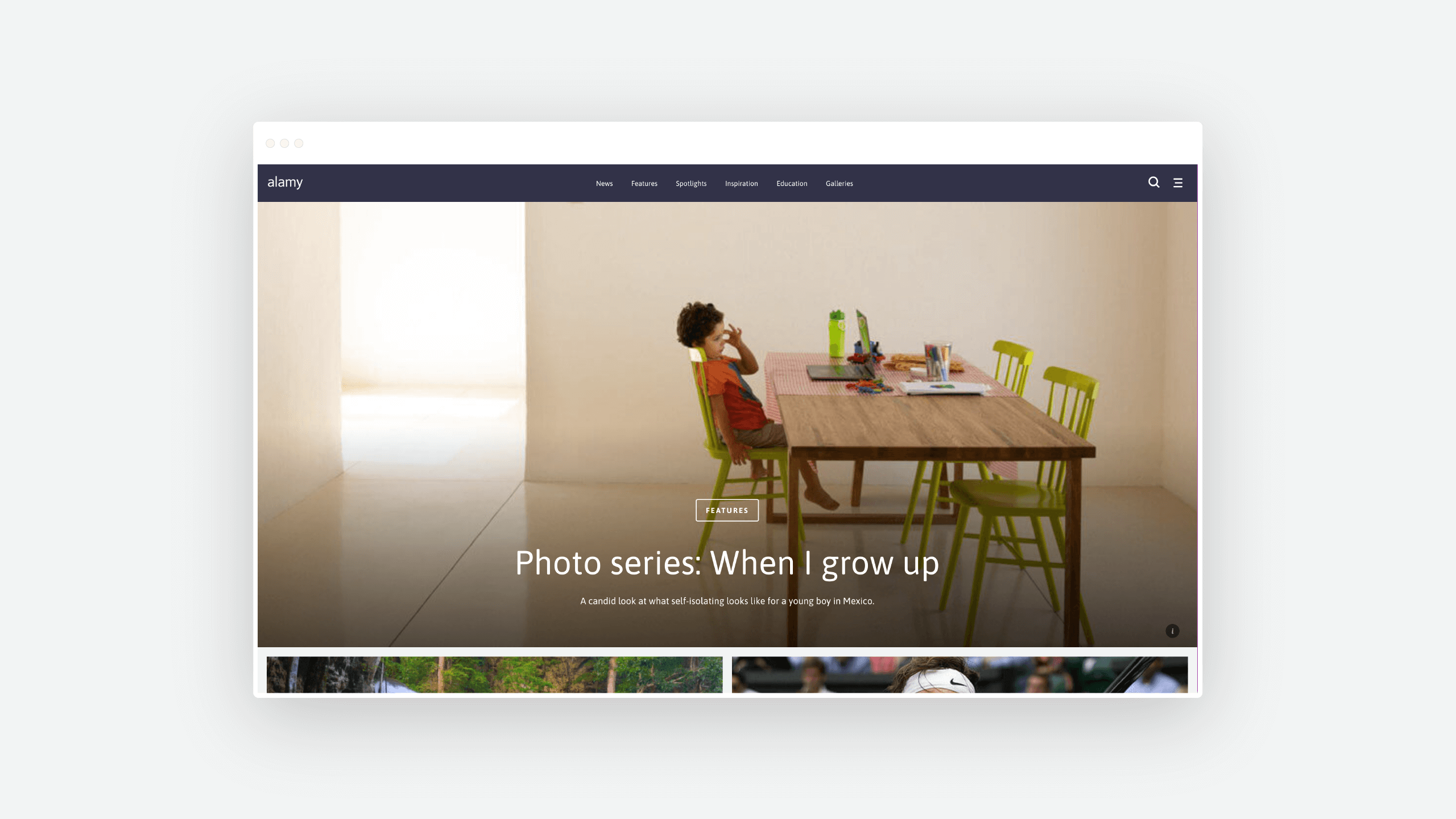 Alamy WordPress Blog