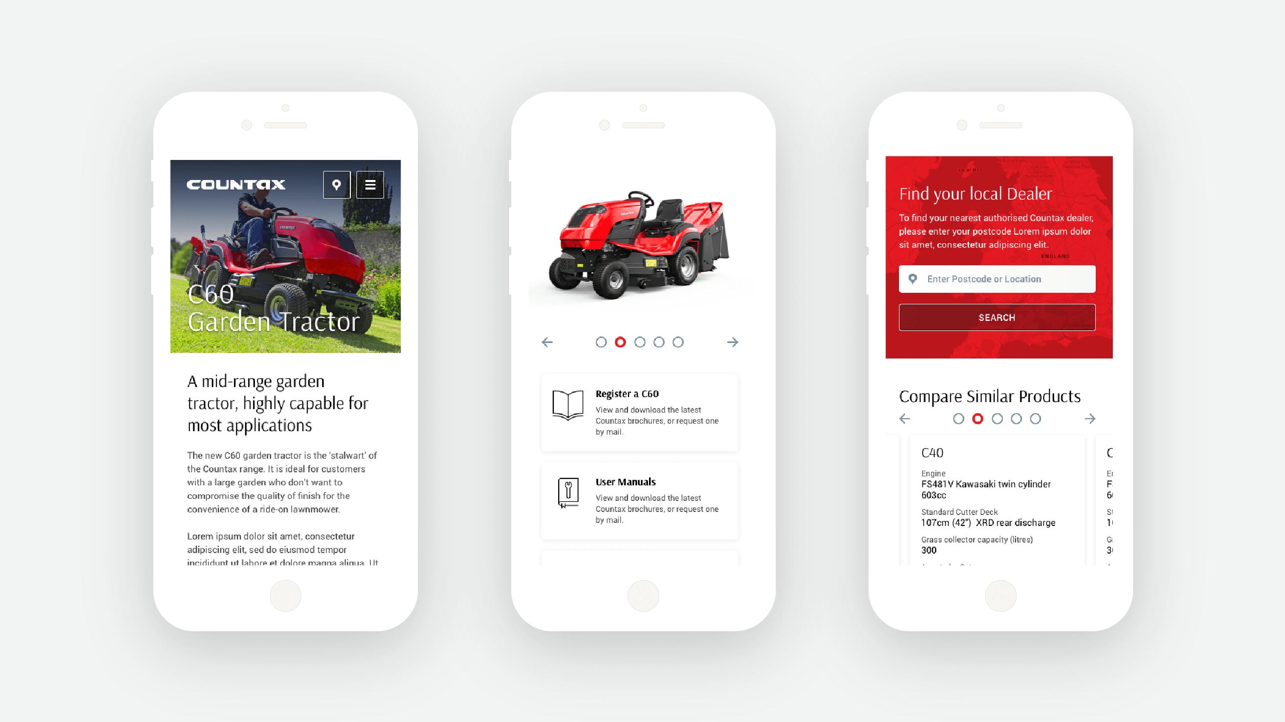 Countax Web design